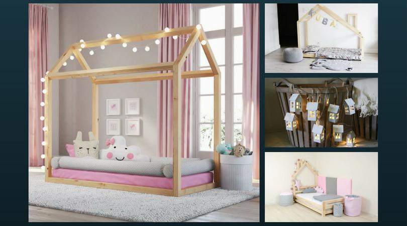Camera montessori unde gasesti patul casuta si - Camera montessori ...